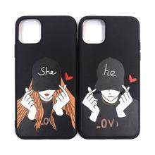 2pcs Couple iPhone Case