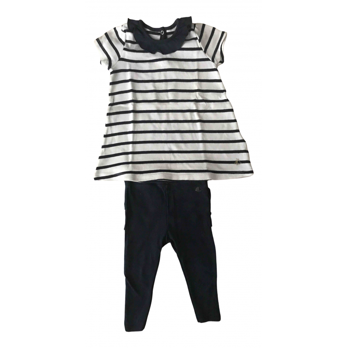 Petit Bateau \N Blue Cotton Outfits for Kids 6 months - up to 67cm FR