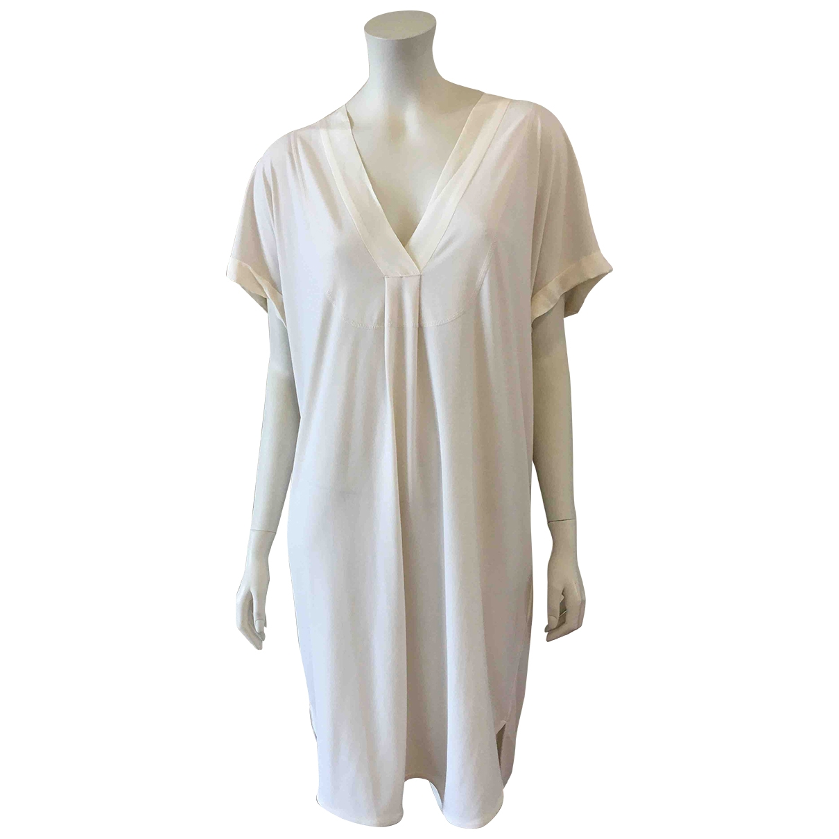By Malene Birger \N White dress for Women L International