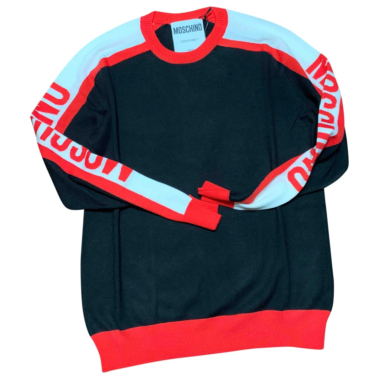 Moschino \N Multicolour Cotton Knitwear & Sweatshirts for Men 46 IT