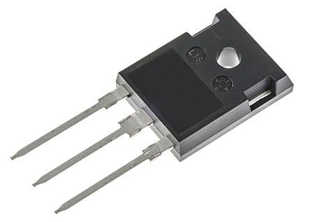 Vishay 600V 30A, Dual Silicon Junction Diode, 3-Pin TO-247AC VS-CPU6006-N3