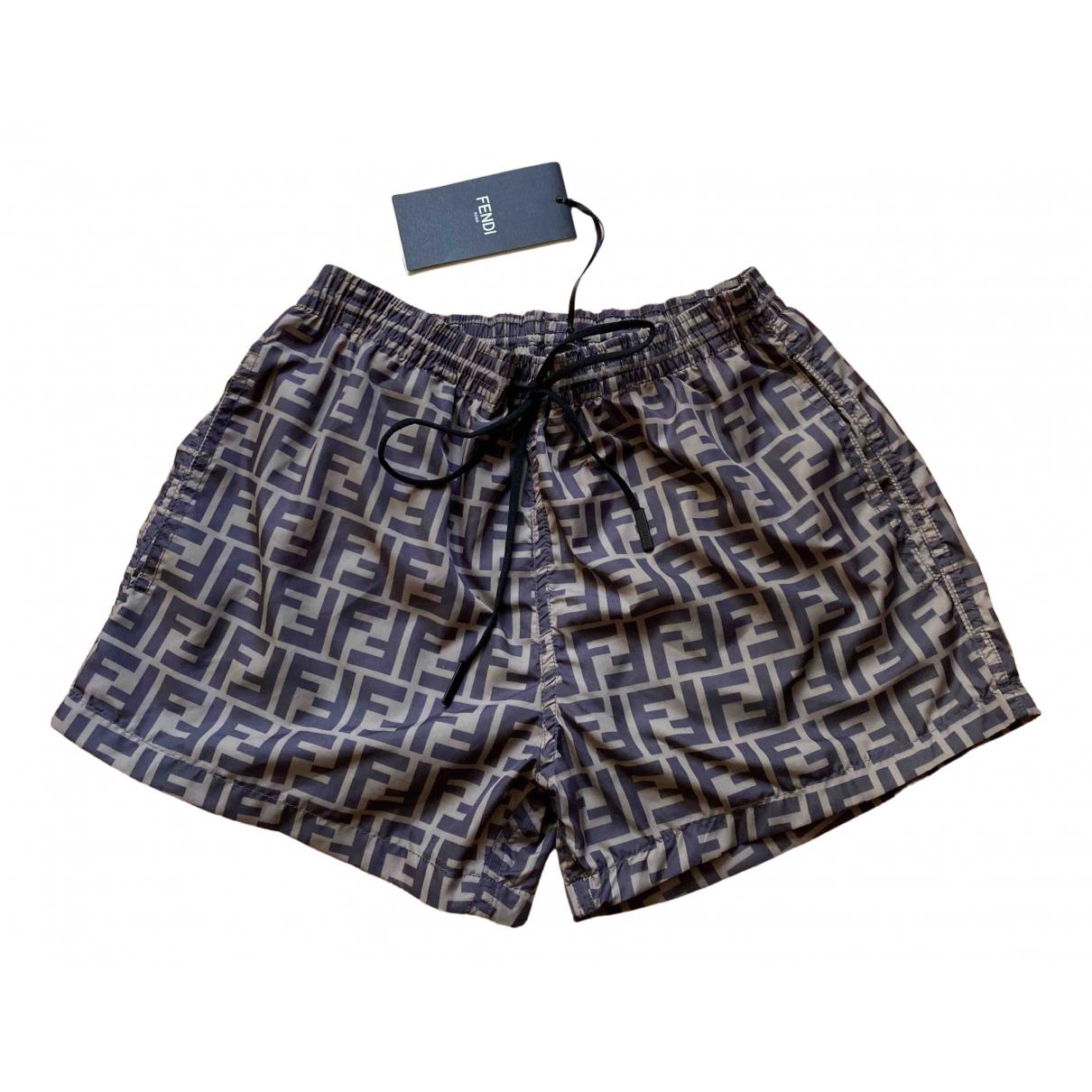 Fendi \N Brown Swimwear for Men 44 IT