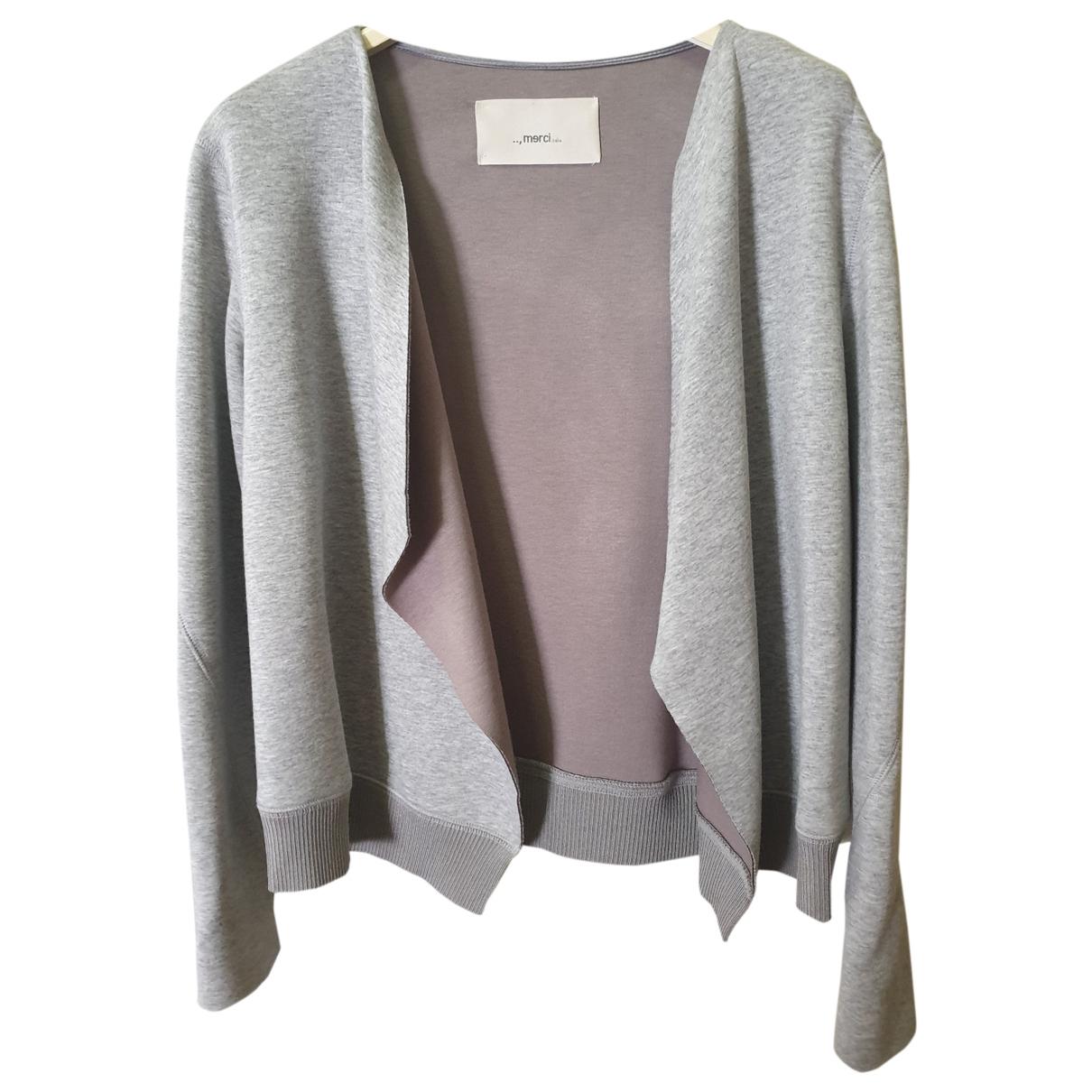Merci \N Grey jacket for Women M International