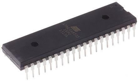 Microchip ATMEGA8535-16PU, 8bit AVR Microcontroller, ATmega, 16MHz, 8 kB Flash, 40-Pin PDIP (2)