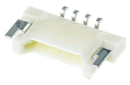 Molex , PanelMate, 53780, 4 Way, 1 Row, Right Angle PCB Header (10)