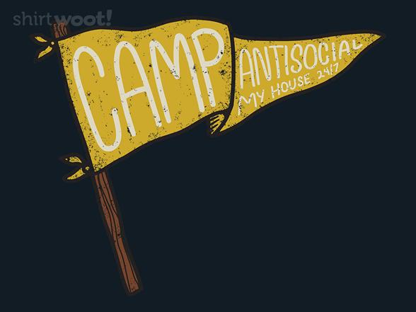 Camp Antisocial T Shirt