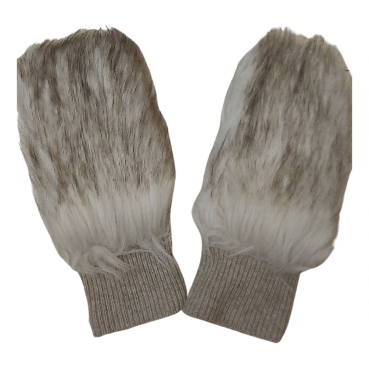 Club Monaco \N Camel Gloves for Women M International