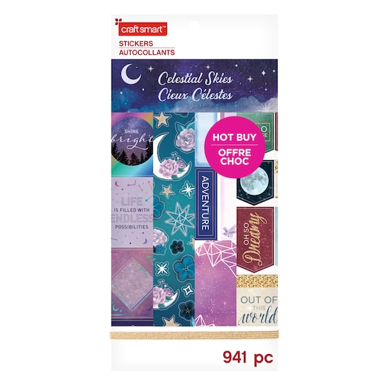 Celestial Skies Stickers By Craft Smart™ | Michaels®