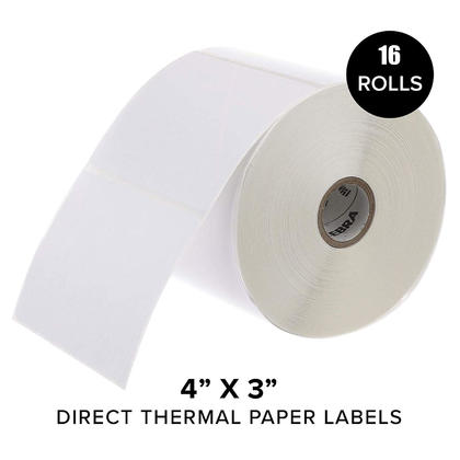 Z-Perform 2000D Direct Thermal Paper Label, 4
