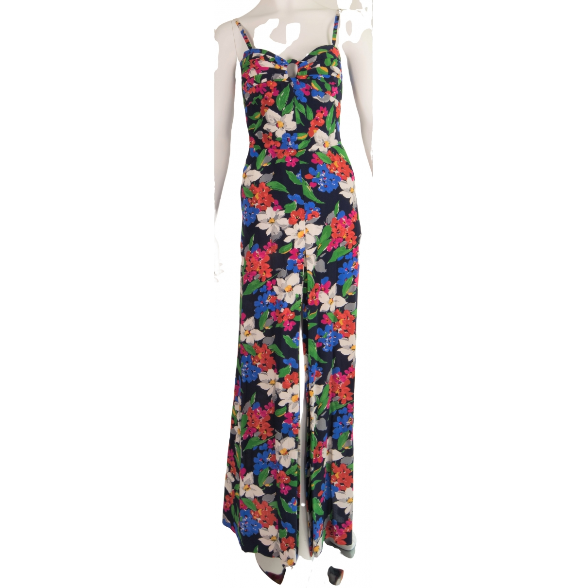 Non Sign?? / Unsigned \N Multicolour Silk dress for Women 40 IT