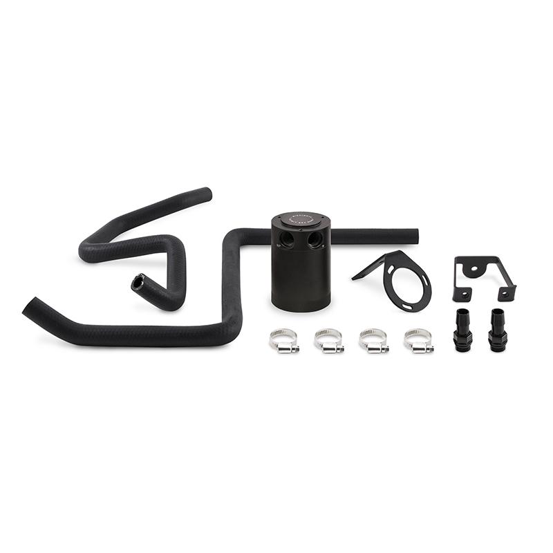 Mishimoto MMBCC-MOP57-05PBEBK Direct Fit Oil Catch Can Kit (Black | 5.7L) Dodge Charger | Chrysler 300C 2005-2014
