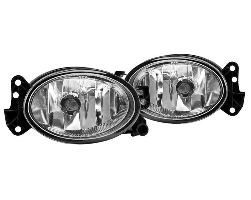 Winjet WJ30-0158-09 Clear OEM Style Fog Lights Mercedez Benz W211 E-Class 07-09