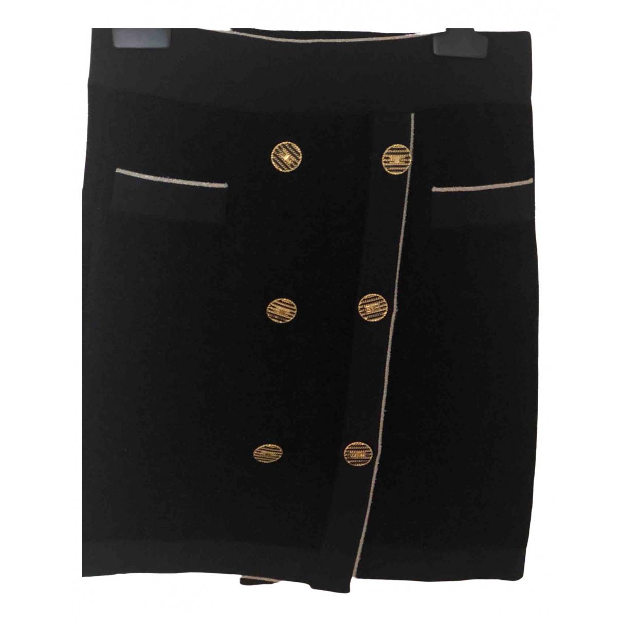 Elisabetta Franchi \N Black skirt for Women 40 IT