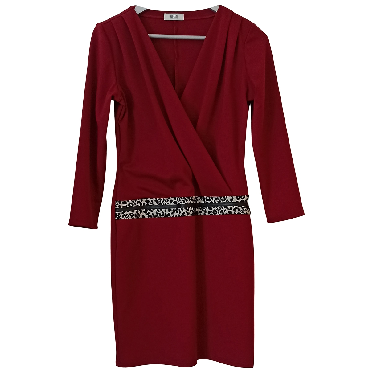 Non Signé / Unsigned \N Burgundy dress for Women M International