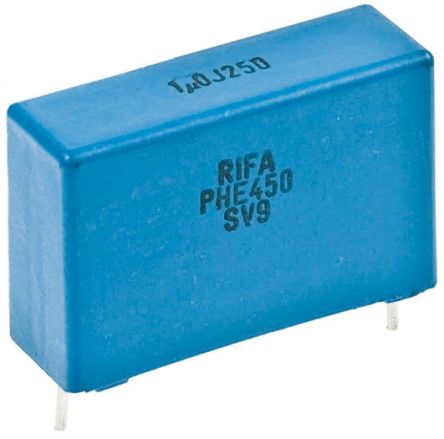 KEMET 10nF Polypropylene Capacitor PP 2 kV dc, 700 V ac ±5% Tolerance Through Hole PHE450 Series (5)