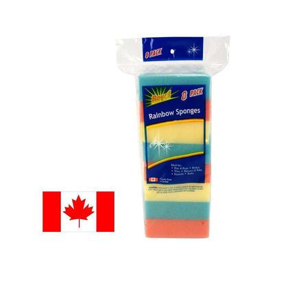 Cleaning Sponges Soft Non-Scratch Sponge for Kitchen Table Top Glassware, 8 pcs/pack