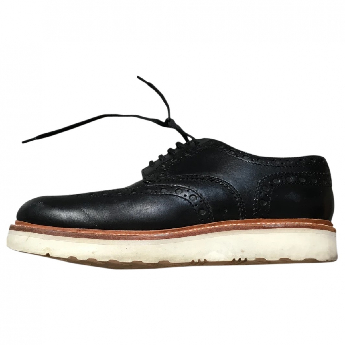 Grenson \N Black Leather Lace ups for Men 43 EU