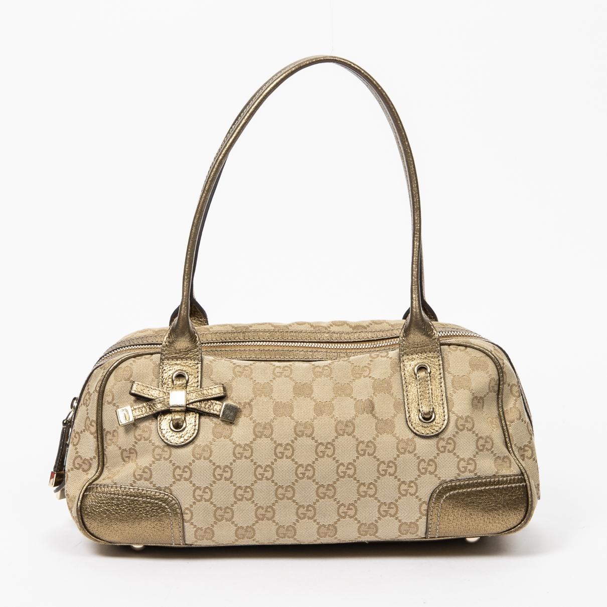 Gucci Boston Brown Cotton handbag for Women \N