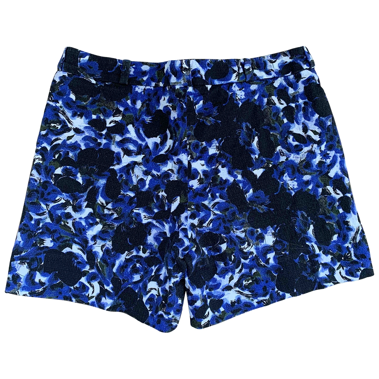 Erdem \N Blue Cotton Shorts for Women 42 IT