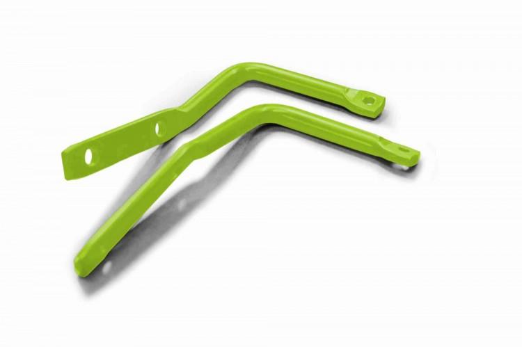 Steinjager J0046731 Mirror Legs (Mirrors Not Included) Wrangler JK 2007-2018 Gecko Green A Pillar Mount