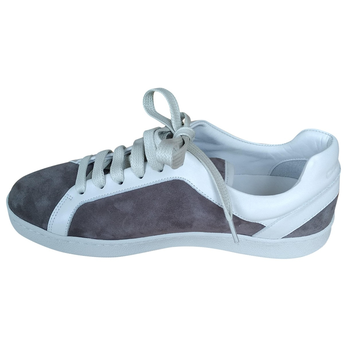 Carel \N Grey Leather Trainers for Women 38 EU