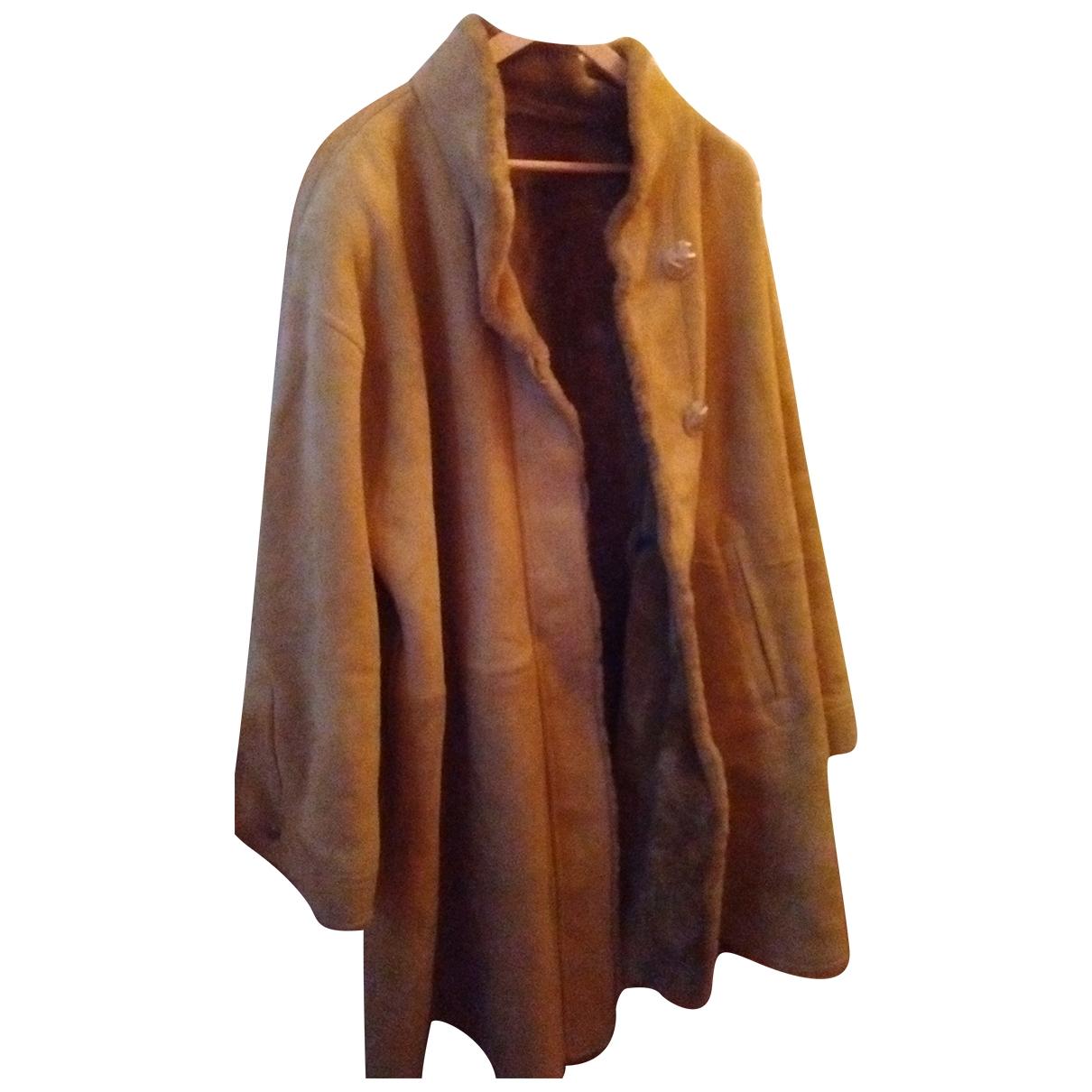 Yves Saint Laurent \N Shearling coat for Women 44 FR