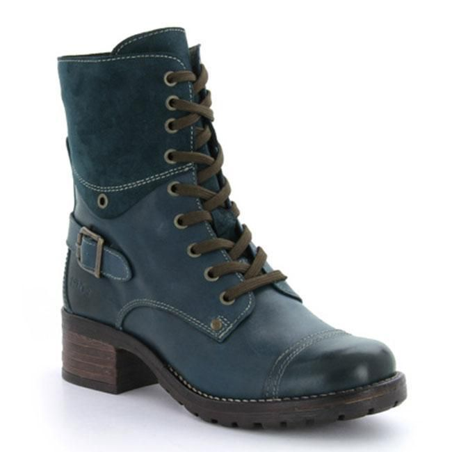 Taos Crave Teal Leather 37
