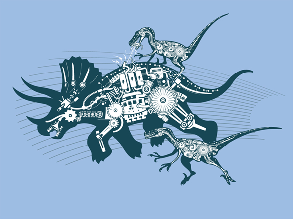 The Gearassic Period T Shirt