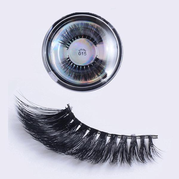 3D False Eyelashes Multi-layer Cross Natural Long Eye Lashes Handmade Makeup Thick Eyelash