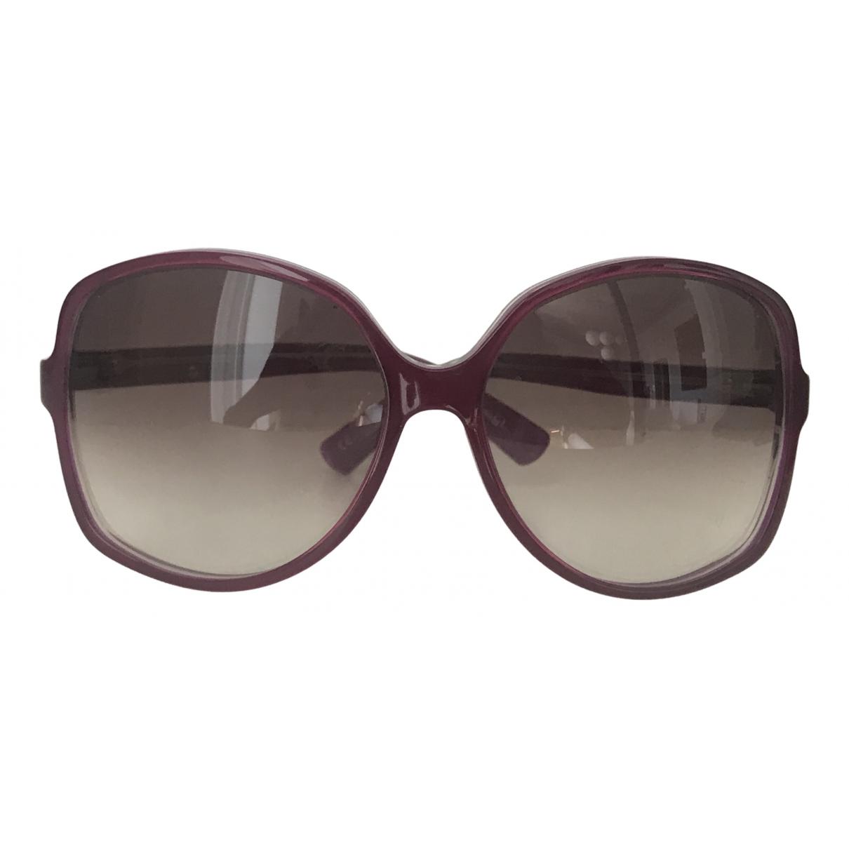 Gucci \N Burgundy Sunglasses for Women \N