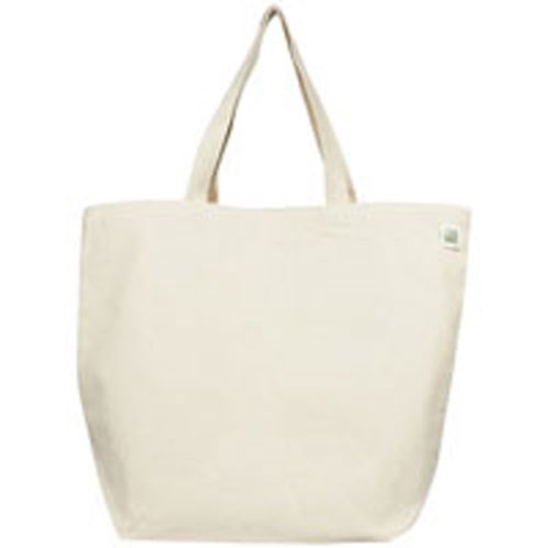 Lightweight Recycled Cotton Canvas Blank Shopping Tote 1 Bag by Eco Bags