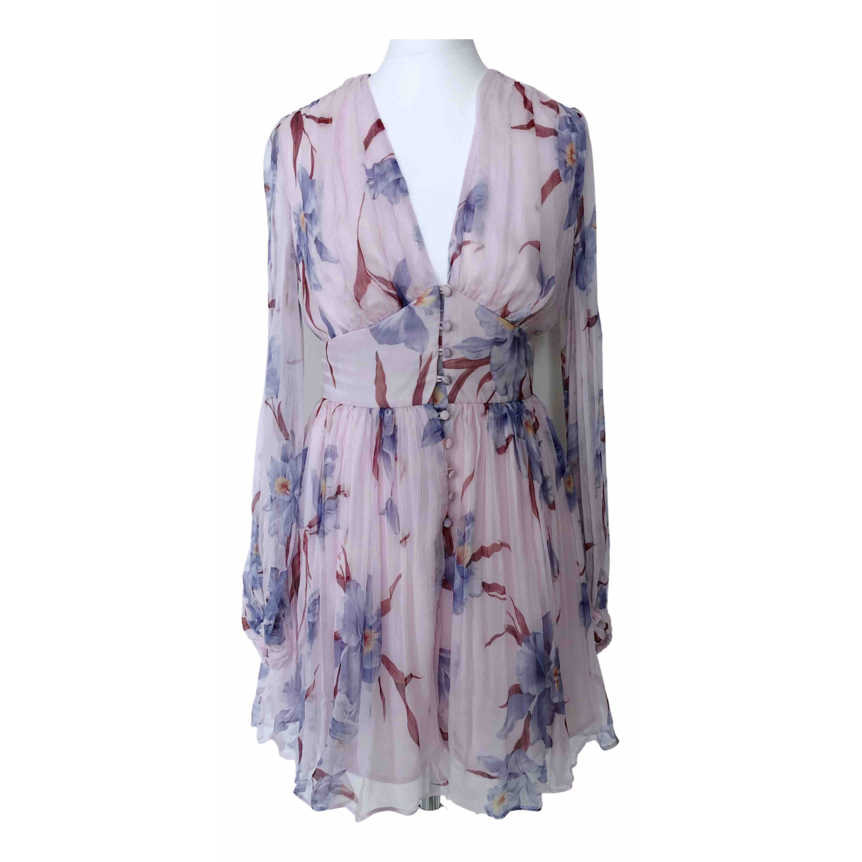 Zimmermann \N Purple Silk dress for Women 0 0-5