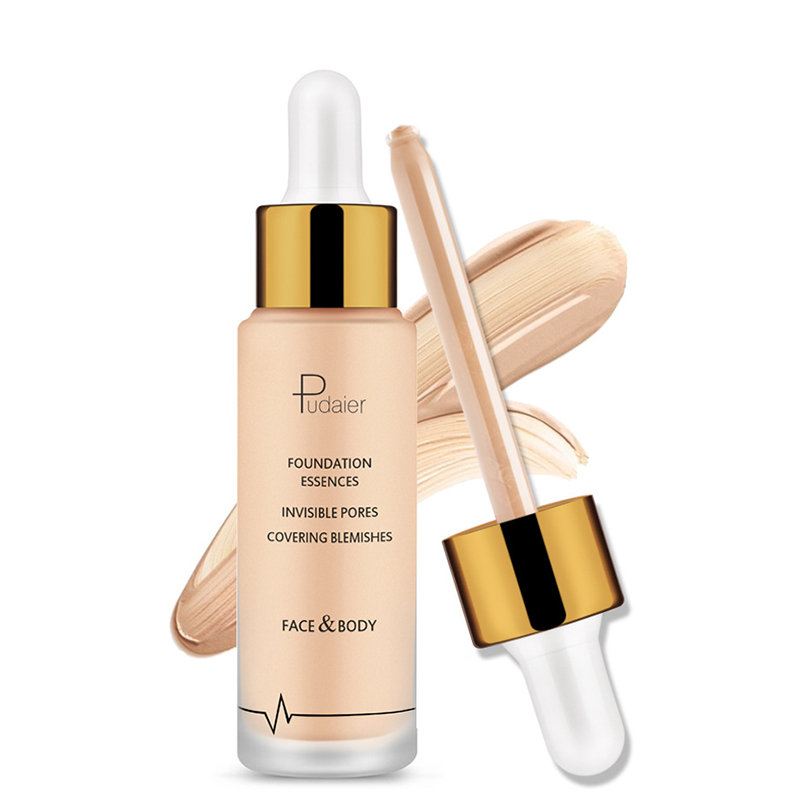 Liquid Foundation Concealer Moisturizing Face Foundation Long-Lasting Waterproof Face Makeup