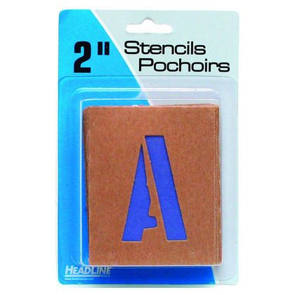 Headline Sign@ Wall Letter Guide - Letter Stickers / Number Stickers / Symbol Stickers - 50mm (2