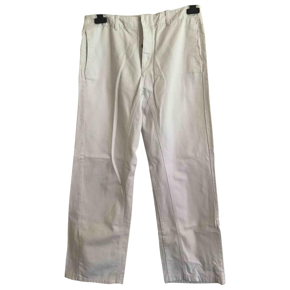 Golden Goose \N White Denim - Jeans Trousers for Women 16 UK