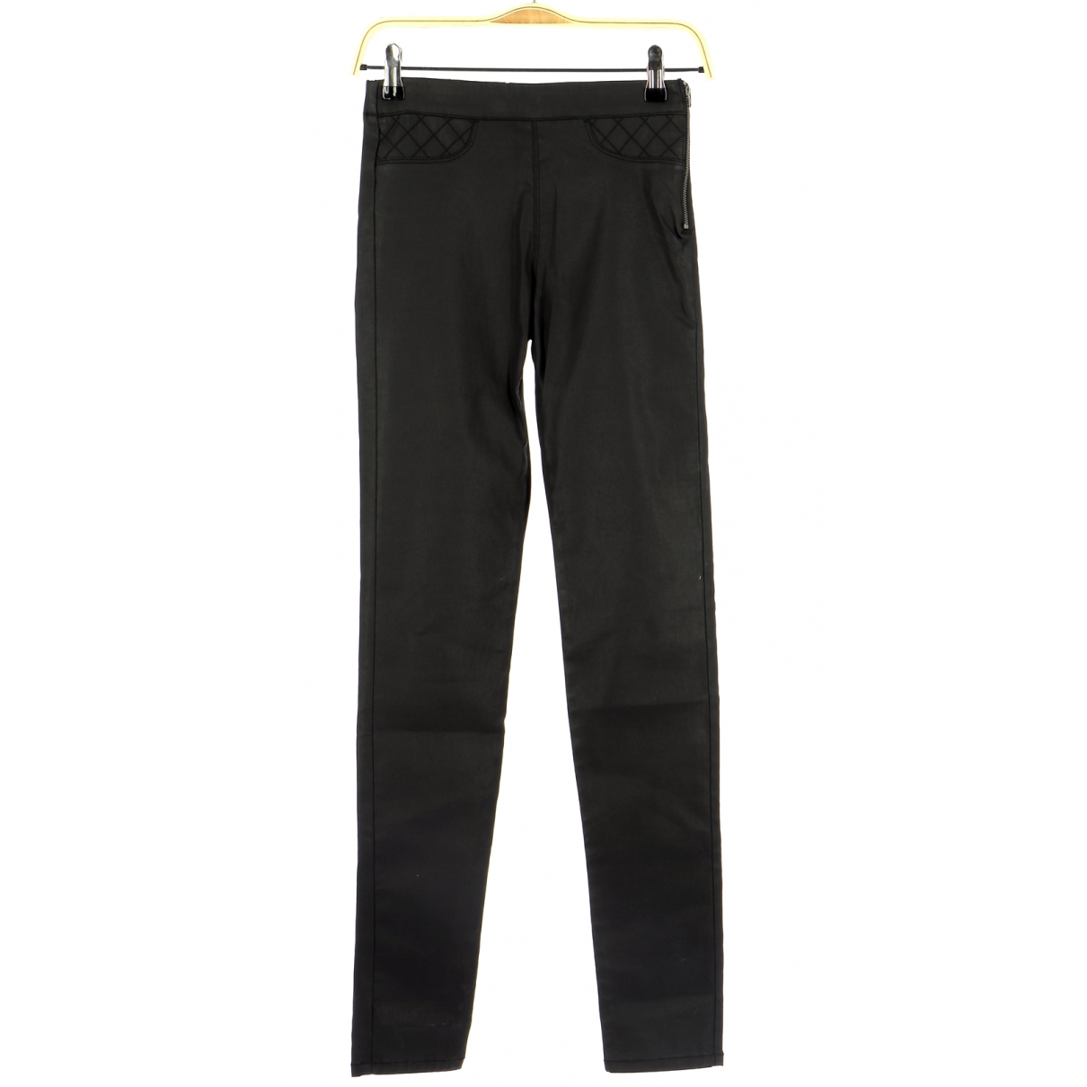 Comptoir Des Cotonniers N Black Cotton Trousers for Men 36 FR