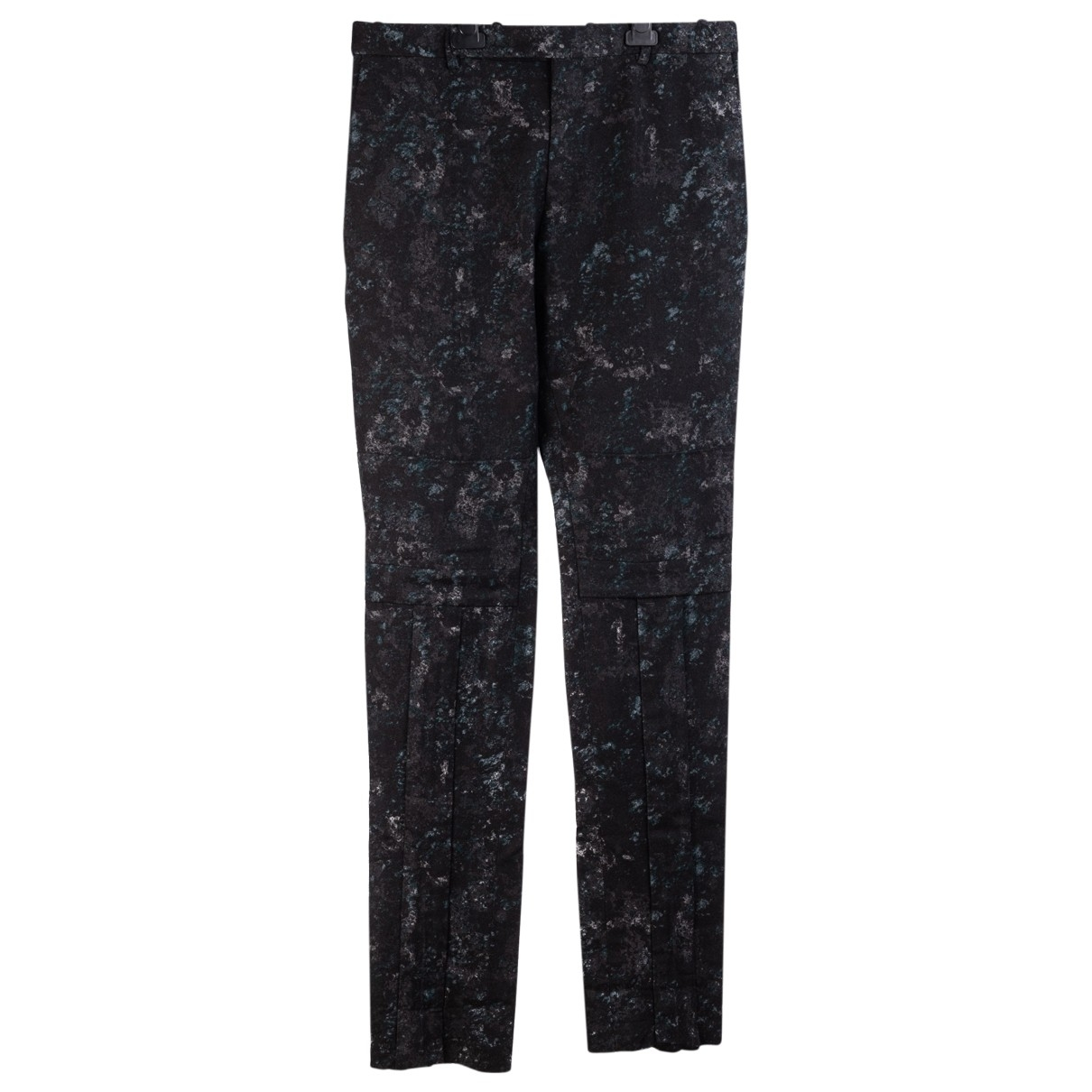 Balenciaga \N Multicolour Wool Trousers for Men M International