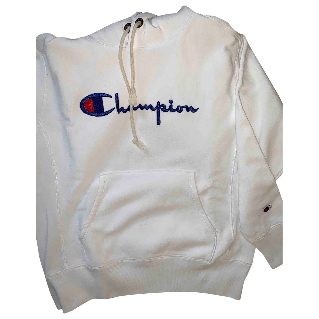 Champion \N White Cotton Knitwear for Women S International