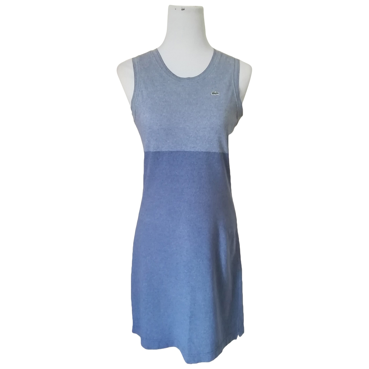 Lacoste \N Blue Cotton dress for Women 42 FR