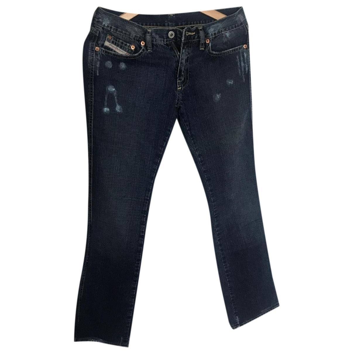 Diesel - Jean   pour femme en denim - bleu