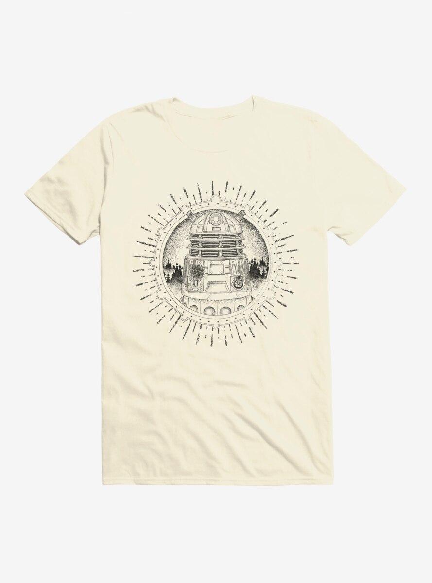 Doctor Who Dalek Pencil Outline T-Shirt