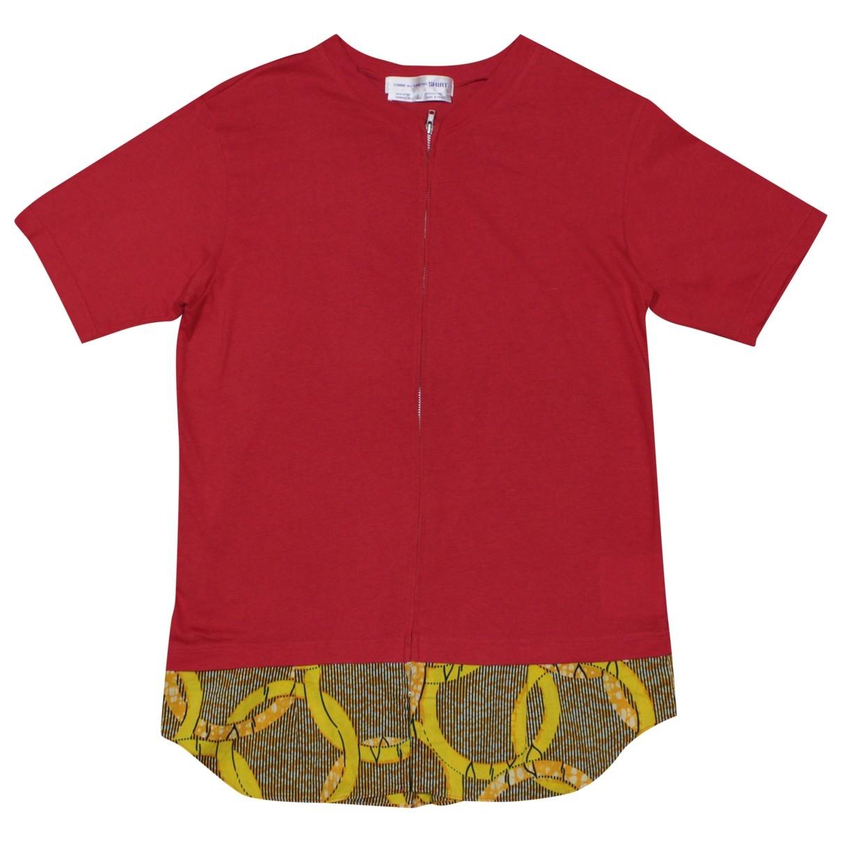 Comme Des Garcons \N Red Cotton  top for Women L International