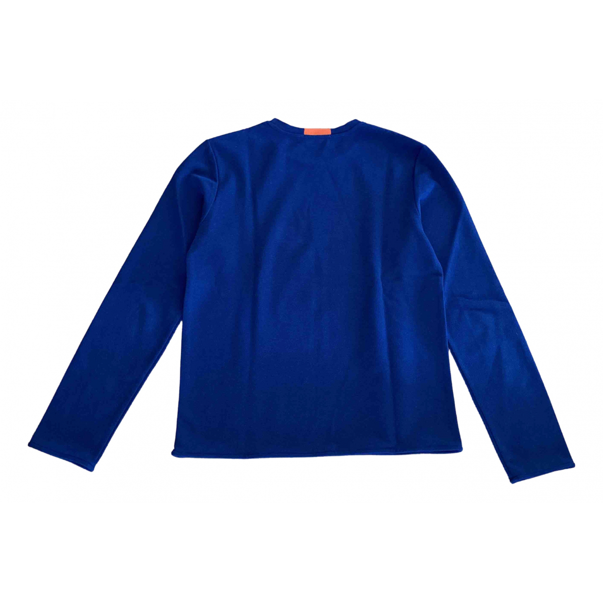 T By Alexander Wang \N Blue Cotton Knitwear & Sweatshirts for Men XS International