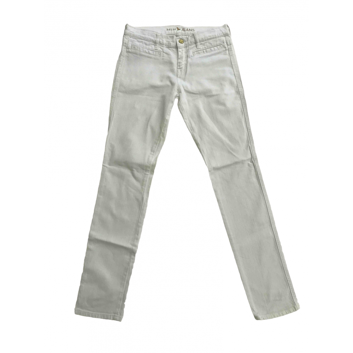 Mih Jeans \N White Denim - Jeans Jeans for Women 27 US