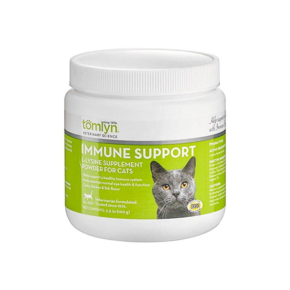 Tomlyn Immune Support L-Lysine Supplement Powder for Cats (3.5 oz)