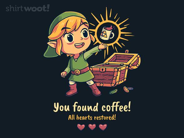 Legendary Coffee T Shirt