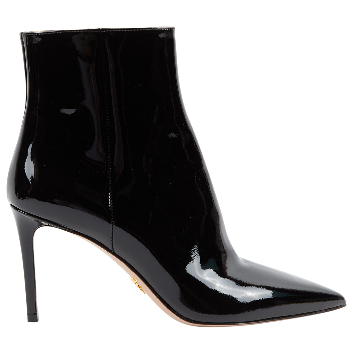 Prada \N Black Patent leather Ankle boots for Women 39 EU