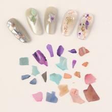 1box Shell Fragment Nail Decoration Without False Nail