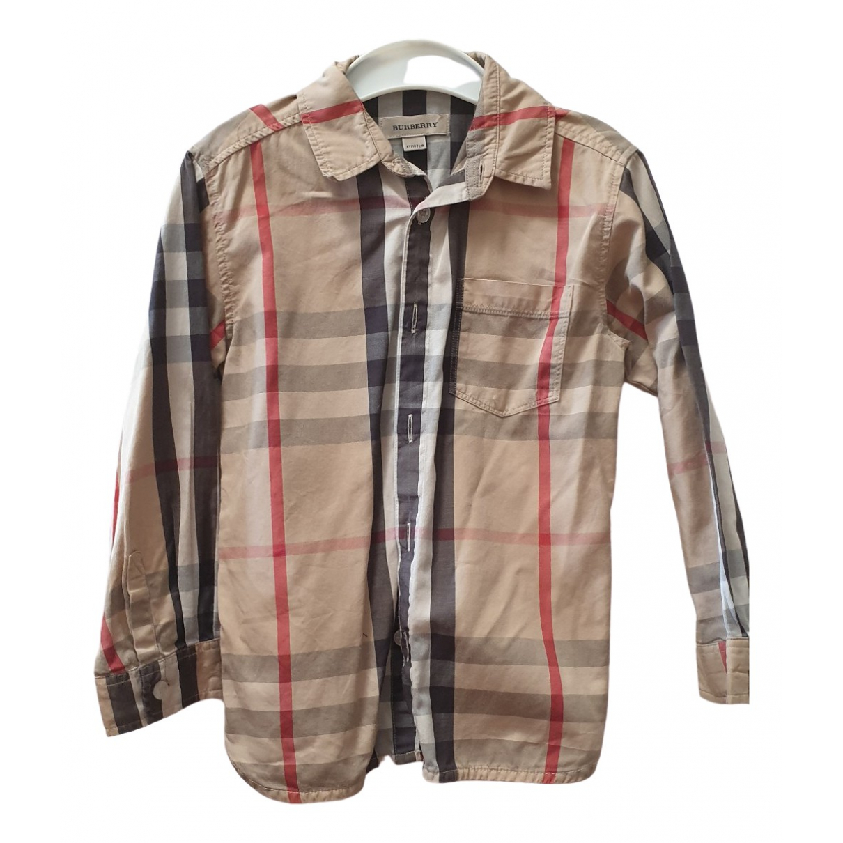 Burberry \N Beige Cotton  top for Kids 4 years - up to 102cm FR