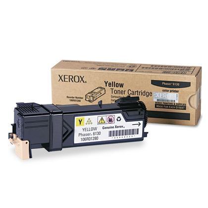 Xerox 106R01280 Original Yellow Toner Cartridge For Phaser 6130 Printer